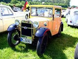 Med tillverkningslicens från brittiska Austin Seven tillverkades BMW Dixi.1932